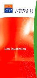 Les leucémies - Février 2005 - Ligue-cancer83.net