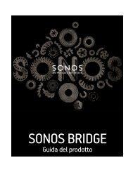 SONOS BRIDGE - Almando