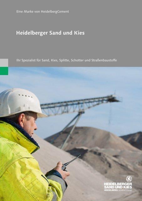 Firmenportrait: Heidelberger Sand und Kies - HeidelbergCement