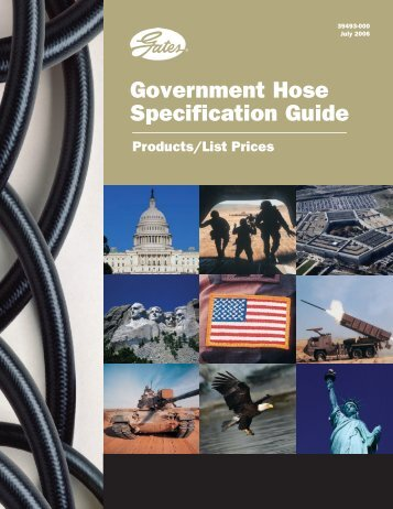Government Hose PDF Catalog - Gates Corporation