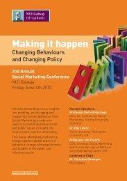 Making it happen - Conference.ie