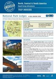 National Park Lodges Premium - Adventure Holidays & Activity ...