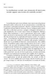 La mediazione sociale - Istituto Universitario Suor Orsola Benincasa
