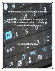 Miami-Dade County Public Schools Procedures Manual