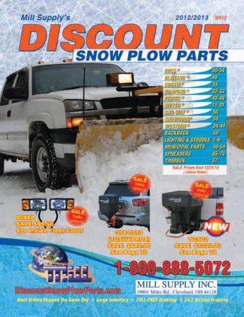 MEYER SNOW PLOW PUMP FILTER SET E46 E47 E60 E57 E58-H PART # 15619 15326