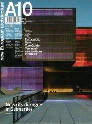 Section deals with current trends - Hans van Heeswijk architecten