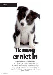 artikel Gastvrije Zorg Maart 2013 - Stichting ZorgDier Nederland