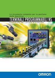 Terminali programmabili NS - brochure (515 Kb) - Industriale Elettrica