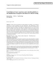 technical report TR-2010-09 - Department of Computer Science ...
