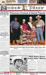 Princesses Crowned at Annual Pageant - Seminole Tribe of Florida