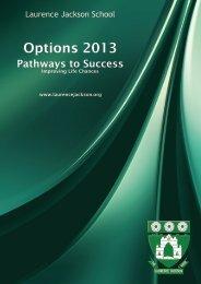 Options Booklet 2013 - Laurence Jackson School