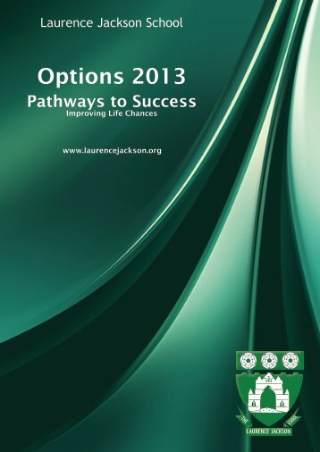 Options Booklet 2013 - Laurence Jackson School