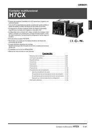 Documentación H7CX - Carol Automatismos Igualada SA