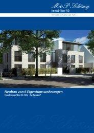 Neubau von 6 Eigentumswohnungen - M & P Schönig Immobilien ...