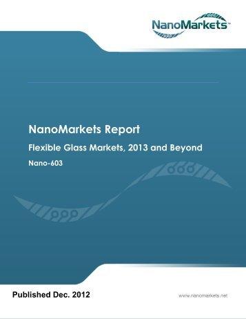 NanoMarkets Report