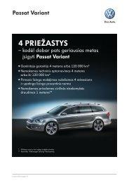 4 PRIežASTyS - Moller Auto Alytus