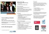 """Unsere Ausbildung im Überblick Ihr Plus: Übernahmegarantie """"Auf ..."""