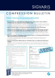 Compression Bulletin 15 - Sigvaris
