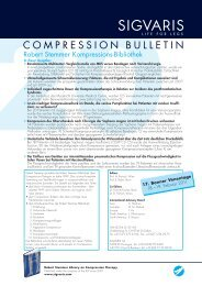 Compression Bulletin 20 - Sigvaris