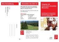 Anmelden bis 28.9.12 Ihre Anmeldung - SKM Freiburg