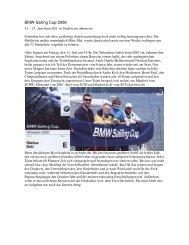 BMW Sailing Cup 2008 - Segelclub Fischen eV