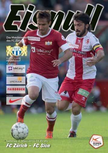 Nr. 12 12/13 (Sion) - FC Zürich