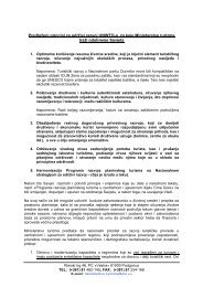 Predloženi principi za održivi razvoj UNWTO-a ... - Visit Montenegro