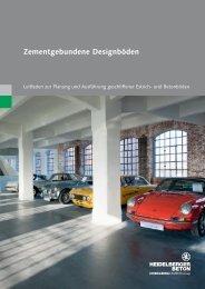 Zementgebundene Designböden - HeidelbergCement