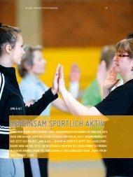 gemeinSAm Sportlich Aktiv - Sport-in-gladbeck.de