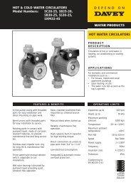 Solarmatic Tropical Manual Davey Pumps