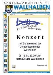 KW 42 2011 vom 21.10.2011 - Verbandsgemeinde Wallhalben