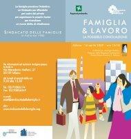 FAMIGLIA & LAVORO