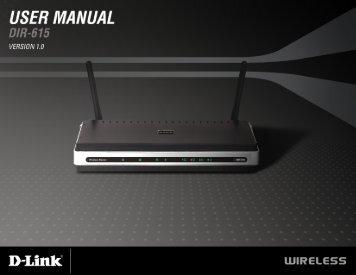 d link 655 user manual