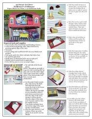 pc1is040-Art Deco Dollhouse's Dollhouse - Paper Minis