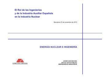 El Rol de las Ingenierías y de la Industria Auxiliar Española en la ...