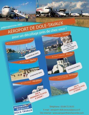 aéroport de dole-tavaux - CCI du Jura