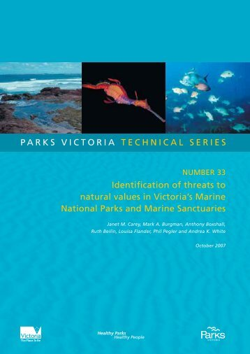 Identification of threats to natural values in Victoria's ... - Parks Victoria
