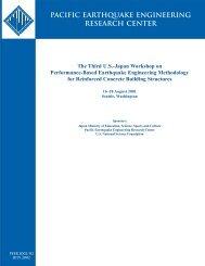 Report - PEER - University of California, Berkeley