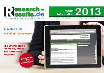 Mediadaten Online - Research & Results