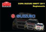 Reglamentos de la Copa Suzuki Swift 2011
