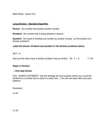 Subject Verb Agreement Worksheets 3rd Grade Excel Division Worksheet  Long Division  Onedigit Divisor And A Four  Graphing Linear Equations In Slope Intercept Form Worksheet Pdf with 2nd Grade Music Worksheets Long Division Notes  Digit Divisor  Pdf Multiplication And Division Worksheets Grade 4 Excel