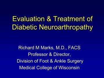 Evaluation and Treatment of Diabetic Neuroarthropathy - Medical ...