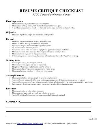 resume professional profile qualifications summary worksheet