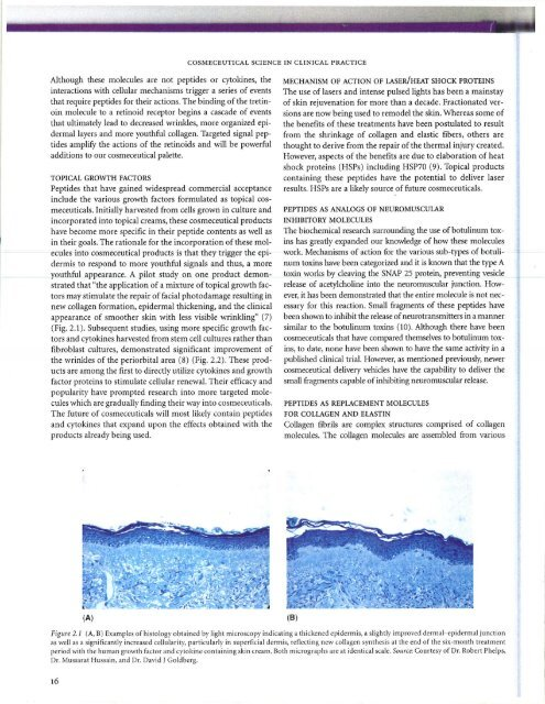 Cosmeceuticals Chapter Proteins - Cytokines 2010