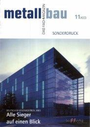 i:t SONDERDRUCK - Institut Feuerverzinken GmbH
