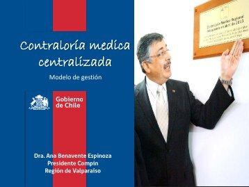 Contraloría medica centralizada - SEREMI de Salud Región ...