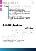 Activité physique et consommation d'alcool chez les jeunes - Page 5