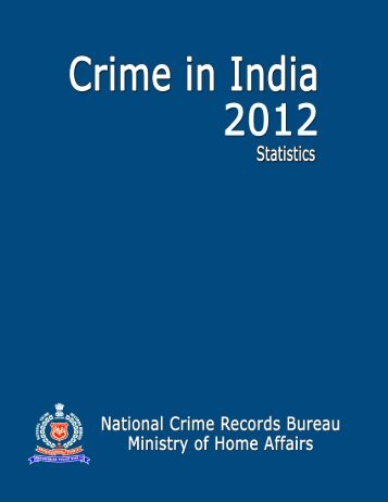 Statistics - National Crime Records Bureau