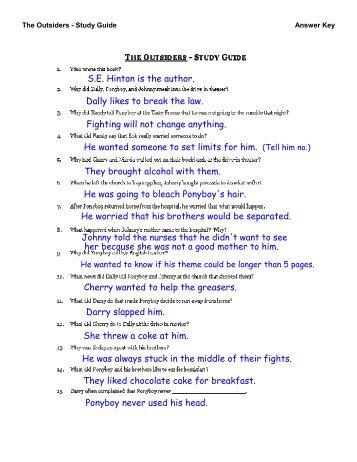 the outsiders student workbook pdf shs8thgrade home rh yumpu com the outsiders book study guide answers the outsiders study guide answers pdf
