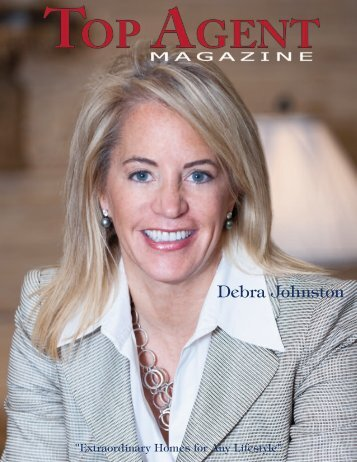 Debra Johnston - Top Agent Magazine
